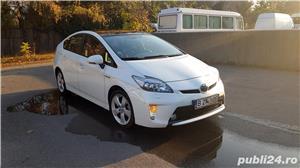 "Toyota Prius HYBRID Solar (DOTARI TOP: Trapa, Piele, Display mare 7""; JBL, Jenti 17"", alb perla - imagine 1"