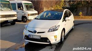 "Toyota Prius HYBRID Solar (DOTARI TOP: Trapa, Piele, Display mare 7""; JBL, Jenti 17"", alb perla - imagine 2"
