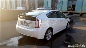 "Toyota Prius HYBRID Solar (DOTARI TOP: Trapa, Piele, Display mare 7""; JBL, Jenti 17"", alb perla - imagine 5"