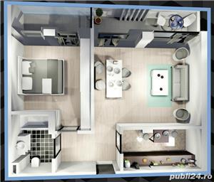 Apartament luminos cu 2 camere in bloc nou la intrare in Mamaia - imagine 7