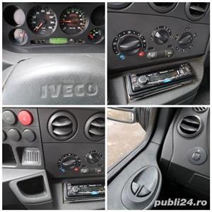 Autoutilitara 3,5T Iveco Daily 35C11 2.8TDI E3 carosat cu lada/caroserie/fixa 3.60m-Obloane+prelata - imagine 3