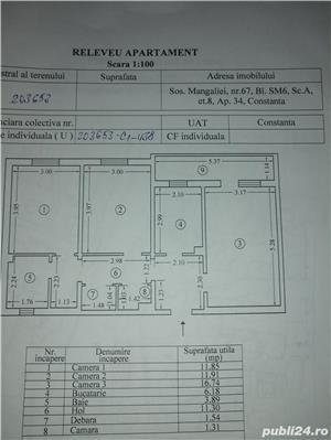 vand apartament 3 camere abator - imagine 5