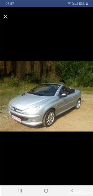 Peugeot 206 CC Cabrio,  1.6 HDI , 2005 - imagine 3