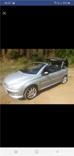 Peugeot 206 CC Cabrio,  1.6 HDI , 2005 - imagine 5