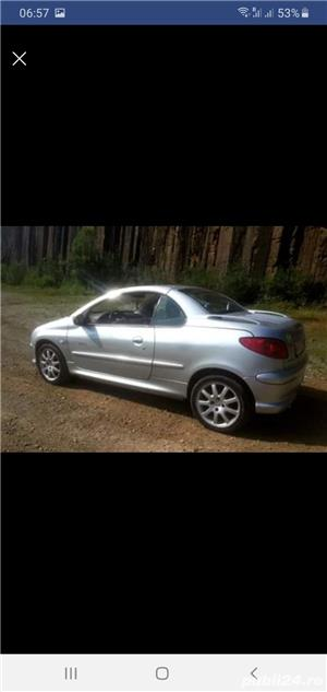 Peugeot 206 CC Cabrio,  1.6 HDI , 2005 - imagine 4