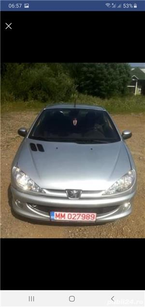 Peugeot 206 CC Cabrio,  1.6 HDI , 2005 - imagine 6