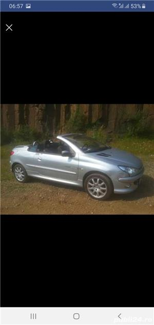 Peugeot 206 CC Cabrio,  1.6 HDI , 2005 - imagine 7
