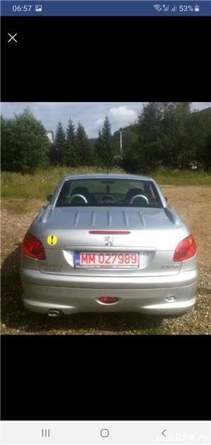 Peugeot 206 CC Cabrio,  1.6 HDI , 2005 - imagine 8