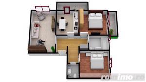 Apartament cu  3 camere | 67.3 mpu | Intabulate - imagine 5