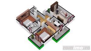 Apartament cu  3 camere | 67.3 mpu | Intabulate - imagine 6