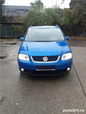 Vw Touran 2005 1.9 diesel, impecabil - imagine 1