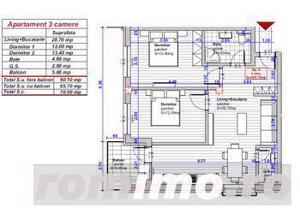 Apartament | 3 camere | Direct dezvoltator | Comision 0% - imagine 3