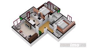 Apartament cu  3 camere | 67.3 mpu | Intabulate - imagine 7