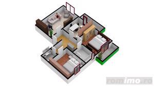 Apartament cu  3 camere | 67.3 mpu | Intabulate - imagine 3