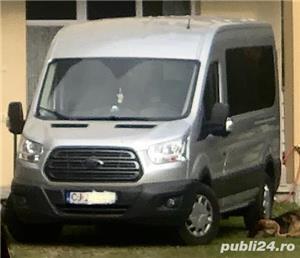 Ford Transit 8+1, 2,0 TDCI, masina inca in Garantie, conditie super, Carte, taxe si revizii la zi    - imagine 7