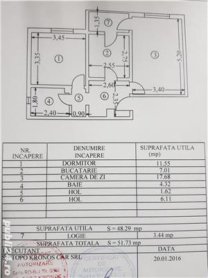 Proprietar, vand apartament 2 camere, decomandat, Tulcea, Podgoriilor - imagine 1