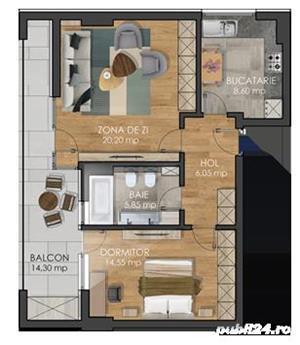 Apartament cu 1 2 si 3 camere - imagine 4