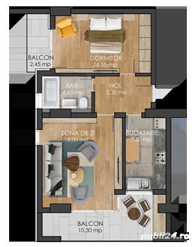 Apartament cu 1 2 si 3 camere - imagine 2