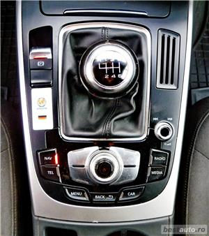AUDI A4 Facelift - 2.0 TDI - 170 C.P. - AN 2013 - EURO 5. - imagine 10