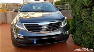 Kia Sportage Automatic Panoramic Keyless Piele Navi LED Pilot 2012 Comenzi Vocale Oglinzi Rabatabile - imagine 4
