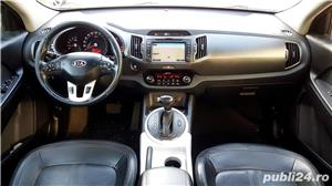Kia Sportage Automatic Panoramic Keyless Piele Navi LED Pilot 2012 Comenzi Vocale Oglinzi Rabatabile - imagine 2