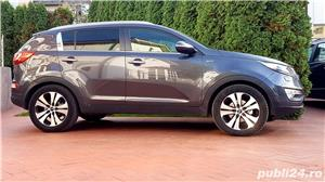 Kia Sportage Automatic Panoramic Keyless Piele Navi LED Pilot 2012 Comenzi Vocale Oglinzi Rabatabile - imagine 6
