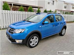 Dacia StepWay Laureate Euro 5 Benzina 91.000km Navigatie Parktronic Tempomat Clima acum adus !  - imagine 5