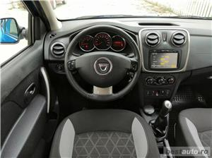 Dacia StepWay Laureate Euro 5 Benzina 91.000km Navigatie Parktronic Tempomat Clima acum adus !  - imagine 8