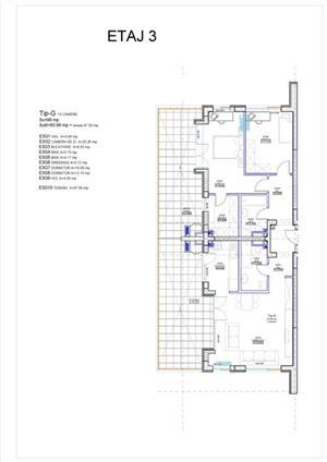 Aviatiei - apartament 3 camere, cu terasa de 48 mp - imagine 2