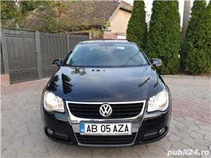 Volkswagen Eos 2.0 TDI 140 CP 2007 Panoramic Decapotabil - imagine 5