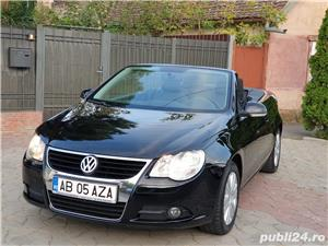 Volkswagen Eos 2.0 TDI 140 CP 2007 Panoramic Decapotabil - imagine 6
