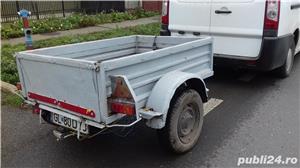Remorcă 300 500 750 1000 pt auto sau tractoras cu acte sau f - imagine 4
