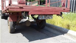 Remorcă 300 500 750 1000 pt auto sau tractoras cu acte sau f - imagine 10