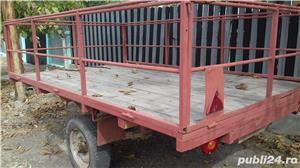 Remorcă 300 500 750 1000 pt auto sau tractoras cu acte sau f - imagine 9