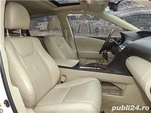 Lexus RX 450H hybrid 2012, 128.000 km, 300 CP - imagine 8