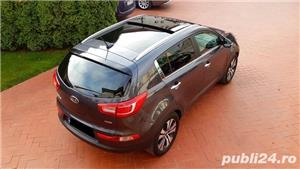 Kia Sportage Automatic Panoramic Keyless Piele Navi LED Pilot 2012 Comenzi Vocale Oglinzi Rabatabile - imagine 10