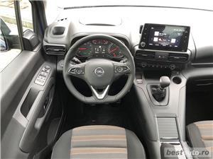 Opel Combo Life | 1.2T | MT6 | Panoramic | Navi | Scaune+volanul incalzite | Senzori parcare | 2019 - imagine 10