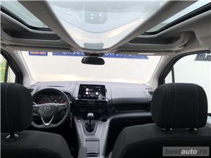 Opel Combo Life | 1.2T | MT6 | Panoramic | Navi | Scaune+volanul incalzite | Senzori parcare | 2019 - imagine 9
