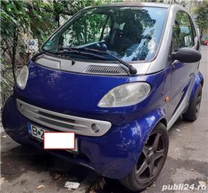 Smart ForTwo, 2000, benzină, automat, 126.000 km, aer condiționat. - imagine 1