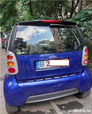 Smart ForTwo, 2000, benzină, automat, 126.000 km, aer condiționat. - imagine 2