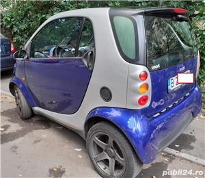 Smart ForTwo, 2000, benzină, automat, 126.000 km, aer condiționat. - imagine 4