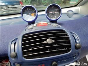 Smart ForTwo, 2000, benzină, automat, 126.000 km, aer condiționat. - imagine 9