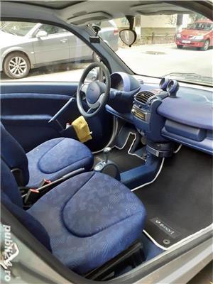 Smart ForTwo, 2000, benzină, automat, 126.000 km, aer condiționat. - imagine 6