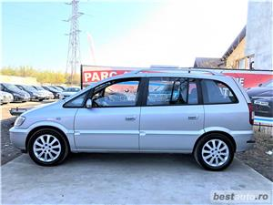 OPEL ZAFIRA 1,8 BENZINA / 7 LOCURI / GARANTIE INCLUSA / RATE FIXE EGALE / BUY-BACK / EURO 4  - imagine 5