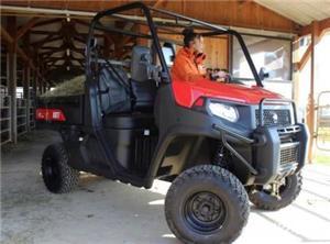 Jeep nou, 4x4 UTV Kioti K9 2400,24CP - imagine 4