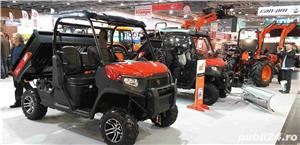 Jeep nou, 4x4 UTV Kioti K9 2400,24CP - imagine 12