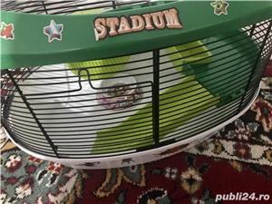 Vând cușcă hamster tip stadion  - imagine 2