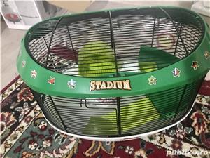 Vând cușcă hamster tip stadion  - imagine 5