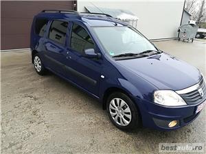 Dacia Logan mcv/an 2009/benzina/7 locuri - imagine 1