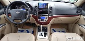 Hyundai Santa Fe2007/diesel/4x4/ Automata / piele crem /klima/full//import germania  - imagine 6
